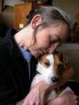 Vasco, Parson Russell Terrier et sa maîtresse, Vascotte ;-) - Parson Russell Terrier